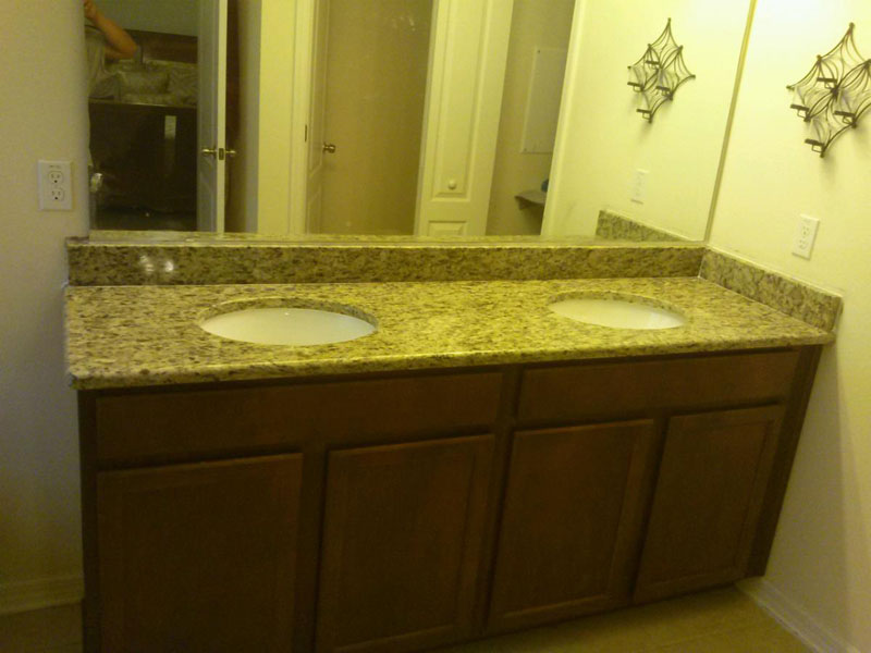 granite countertops double vanity orlando Stone Point Granite Countertops