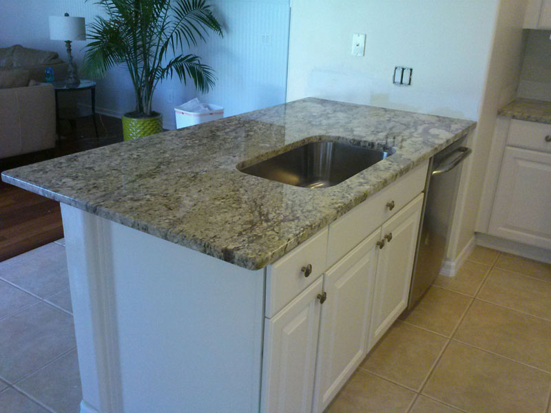 Granite Countertops Island Undermount Orlando